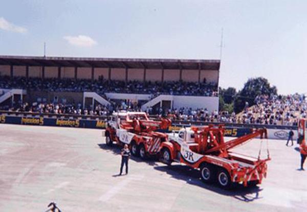 Transport d'équipement et d'équipes - Transport d'installations événementielles