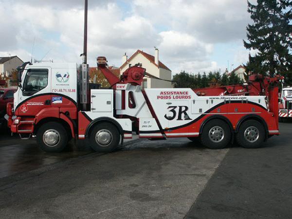 Dépanneuse Poids Lourds - Renault Renault KERAX 400